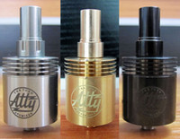 Tobh atty V2 303 Stainless Steel 510 thread 2014 newest and hottest atty tank upgrade rda atomizer Tobh Atty atomizer Clone atty RDA electronic cigarette tobh atty atomizer