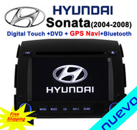 Wholesale Car DVD GPS Navigation with Bluetooth Radio iPod ATV USB for Hyundai Sonata NF