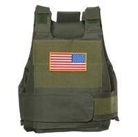 army body armor - TACTICAL AIRSOFT PAINTBALL BODY ARMOR VEST OUTDOOR MEN OUTWEAR VEST ARMY GREEN