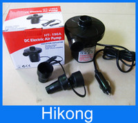 Wholesale Household AC Vehicle DC Electric Air Pump Domestic and Car Two Ways Electric Air Pump Rechargeable Inflator Type Air Pumps