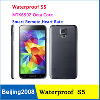 "1: 1 S5 IP67 Waterproof Phone Real 5. 1"" I9600 MTK6592 Oc..."