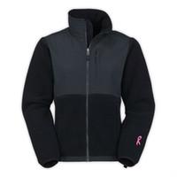 Wholesale New Winter Women Fleece Pink Ribbon Jacket Fashion Fleece SoftShell Down Jacket Outdoor Sports Mountaineering Sportswear Coat Black White