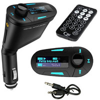 FM Transmitters car radio with mp3 player - Wireless Car LCD MP3 Player Module USB SD MMC FM Transmitter Auto Radio For iPod iPhone S S iPad With Car Charger