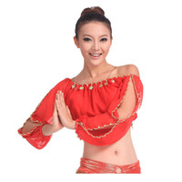 Wholesale NEW Arrival Sexy Choli Belly Dance Dancing Costume Blouse Top Shirts L034921
