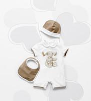 New Arrivals Baby Rompers Brand Romper + Hat Baby Onesies Ki...