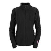 Wholesale New Women Khumbu Pink Ribbon Fleece Jacket Fashion Fleece Slim Jacket Outdoor Sports Mountaineering Coats Black Pink