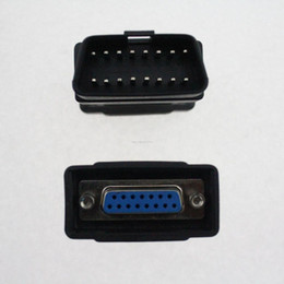 For Autoboss v30 16 pins OBD II Adapter Car Diagnostic Obd2 Connecter OBD OBD-II Adaptor Connector 16pin connector DK80 2600+