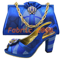 Wholesale shoes matching bags lady s party wedding shoes with bags high quality SBDH S001