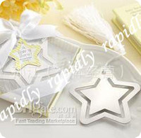 Wholesale HOT Wedding favor bookmark mixed order weeding gift bookmarks favors different styles