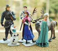 Wholesale Fashion Action Figure Play Set Frozen Princess Dolls Anna Elsa Figures Sets TV amp movie Cartoon Anime Princesses Doll Toy