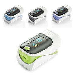 Wholesale Health care SH D1 CE amp FDA LED Finger Pulse Oximeter Blood Oxygen SPO2 PR saturation oximetro monitor L0192424