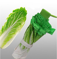 big cabbage - Big discount Summer creative novelty Vegetable lettuce umbrella cabbage umbrella rain women automatic umbrella gift