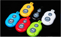 Wholesale Remote photo Camera Control Wireless Bluetooth Self timer Shutter for iPhone6 Iphone s Galaxy S5 S4 S