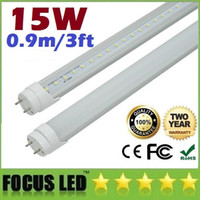 T8 15W SMD 2538 CE ROHS UL FCC + T8 0.9m 3ft 15W Led Fluorescent Lamp Tube Lights 120 Angle Warm Natural Cool White 176 SMD Led Tubes Light AC 110-240V