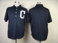 "Baseball Men Short Men Cleveland ""Indians"" Blank Authentic Baseball Jerseys 1902 Turn Back The Clock Jersey Cheap Stitched Jerseys High Quality Baseball Wears"