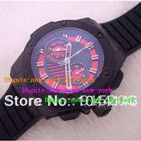 mens sapphire ring - racing Mens Automatic Chronograph Swiss Eta Movement Ceramic ring mm Sport Watches Sapphire rubber black