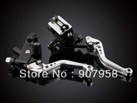 Wholesale Hot Universal quot Motorcycle Clutch Brake Master Cylinder Kit Reservoir Levers