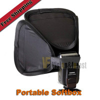 Wholesale Universal Folding top Flash Softbox Diffuser Portable SoftBox cm for Flash Light
