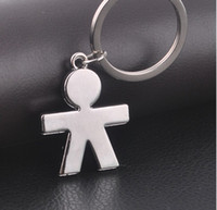 Wholesale 2014 new personality little boy key chain key chain Metal Keychain peices
