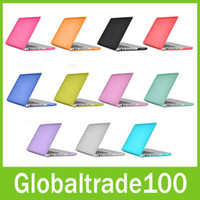 Wholesale For Macbook Air Pro Retina Crystal Clear Cases Full Protective Cover Case Free DHL Shipping