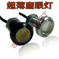 Wholesale 2pcs mm W W w DRL eagle eye led reverse lights backup parking reversingled daytime running lights