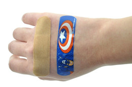 Wholesale Cheap Multi Cartoon Designs Latex Free Bandages Wound Plaster Band Aid for Minor Wound RY1462