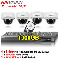HIKVISION DS- 7608NI- SE P 8CH PoE NVR Up to 5MP Network Video...