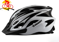 Wholesale Giant Road Bike Helmet With Wind Holes Cycling Sports Safety Cap EPS Materials Adjustable Bicycle Helmet