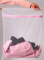 Wholesale 100P Underwear Bra Lingerie Saver Mesh Wash Basket Laundry Net Bag clothes protect wash bag bathroom product
