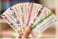Wholesale Free ship korean stationery kawaii Mini animals The new N stick Post it notes memos pad school supplies