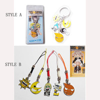 Keychains cell phone straps - Metal Action Figure Anime Cartoon SOUL EATER Keychains cell phone straps Pendants