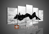 Metal Christmas Bowl hand-painted canvas wall art ornament hot women nake sexy girl oil painting nude girl photo body painting