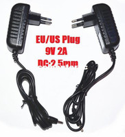 Wholesale EU US Plug Wall CHarger Power adapter for Tablet PC Black V A mm Charging port for Aoson M19 PIPO M2 M3 M8 M8 G Tablets