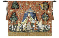 Wholesale by china post Lady amp Unicorn Medieval Tapestry Wall Hanging quot x quot