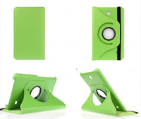10pcs 360 Rotating Flip PU Leather Case Stand Cover for Sams...