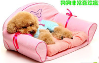 Wholesale 2013 Fashion Noble Pet Kennel Pet Cotton Nest Sofa Guest Teddy Bog Bed Pet Product Hot Sale