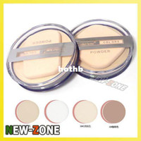 Wholesale MH Clear Smoonth Makeup Face Pressed Powder Foundation Moist Dry Wet Way Use Compact powder foundation