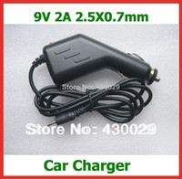 Wholesale V A DC x0 mm Car Charge for Flytouch Superpad Aoson M19 M11 Pipo M2 M3 M8 SmartQ T30 T20 T19 Chuwi V3 Adapter
