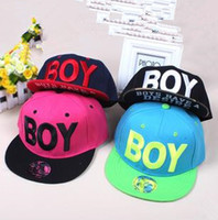 Ball Cap Red Cotton wholesale price Fashion BOY letter baseball caps Hip Pop Snapback caps free shipping Hats & Caps for autumn -summer