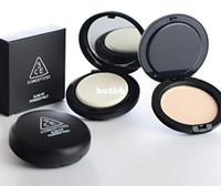Q790 3pcs/lot skin nutirtion wholesale-3CE Stylenanda Perfect Makeup Foundation Powder Beauty Slim Fit Powder Pact flawless Pressed Powder Pact makeup essence tools