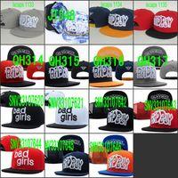 Snapbacks Unisex Embroidered Wholesale New Arrival-Fashion Hats Bad Boy Good Girl Snapbacks Hats Adjustable Sport Hat Cap Custom Snapback Mix Order Free Shipping