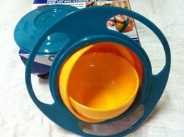 Wholesale 51pcs Gyro Bowl Universal Turning Baby Toys UFO Training Flying Saucer Bowl