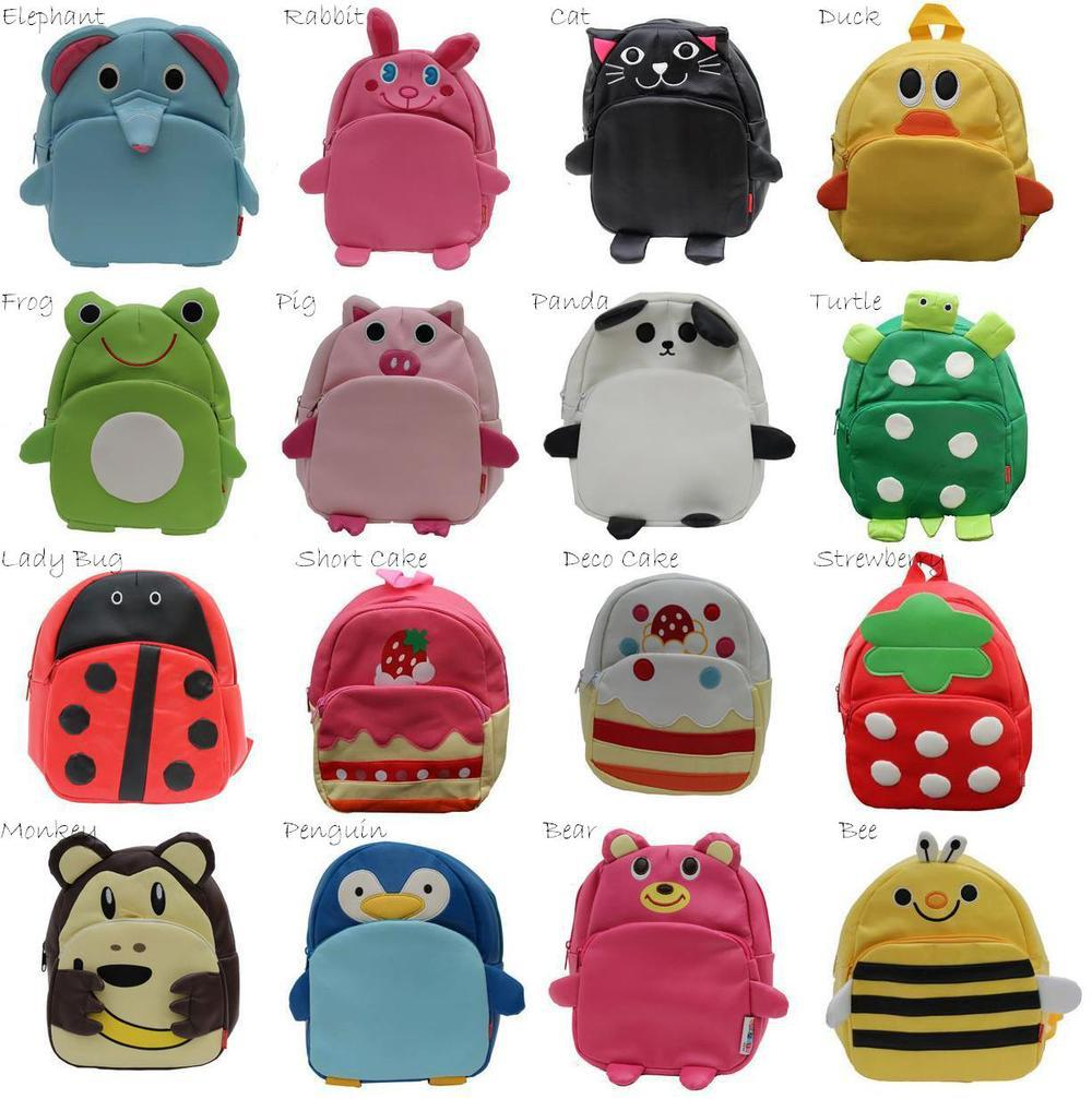 Children's School Bags Baby Toddler Backpacks Shoulder Bag ...