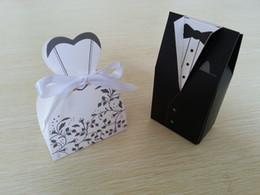 Wholesale pairs Bride Groom Wedding favor Box Candy Box Wedding Bridal Favor Wedding Gift Boxes