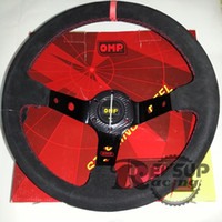 Wholesale Black Suede Leather mm inch OMP Steering Wheel