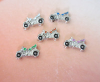 Wholesale 2014 new pieces alloy Motorcycle floating charms FC003