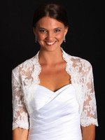 Wholesale Elegant Bridal Wedding jacket bolero Bridal Wraps2015 New Arrival Bridal Wraps