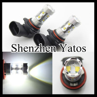 Wholesale 2pcs High Power Automotive Bulb Car w H8 Led DC V DC Fog Led Lighting