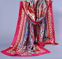 mixed lot - 2014 New Silk Scarves Modern Oriental Style Scarf High Quality Colors Mixed