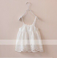 baby girl kids crochet tanks crocheted tops lace tops flower...